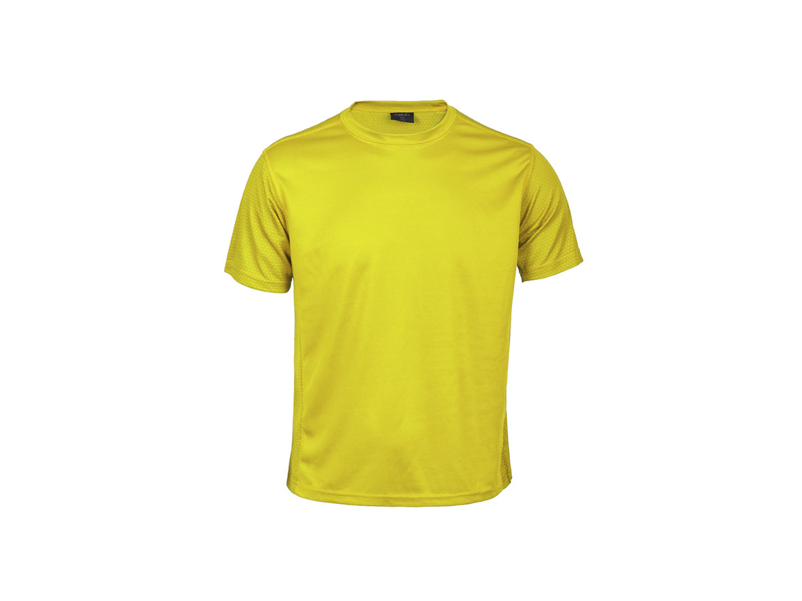 Tecnic Rox - Kinder T-Shirt - YELLOW - 10-12 bedrucken, Art.-Nr. 5249AMA10-12