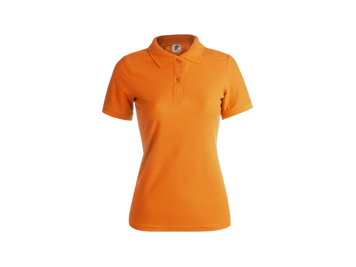 "WPS180 - Frauen Farbe Polo-Shirt ""keya"" - ORANGE - M bedrucken, Art.-Nr. 5872NARAM"
