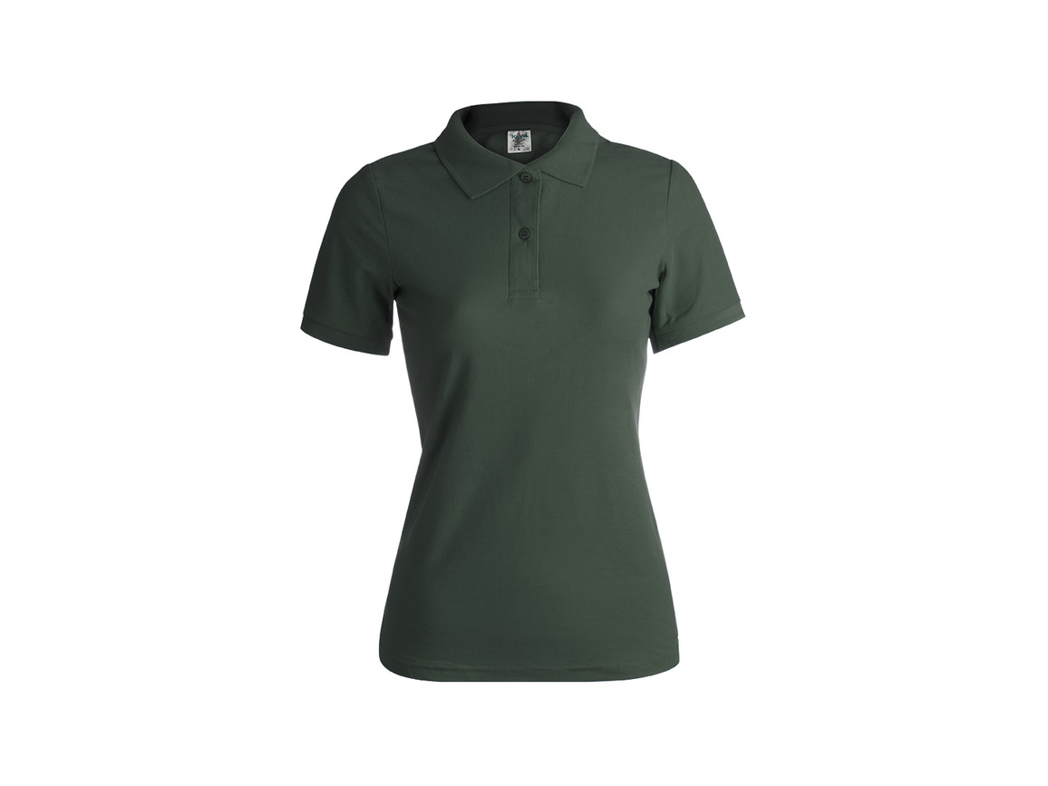 "WPS180 - Frauen Farbe Polo-Shirt ""keya"" - BOTTLE GREEN - XL bedrucken, Art.-Nr. 5872VEBXL"