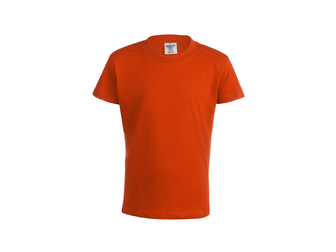 "YC150 - Kinder Farbe T-Shirt ""keya"" - ORANGE - S bedrucken, Art.-Nr. 5874NARAS"