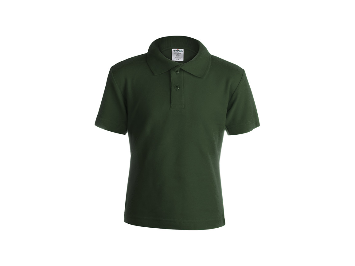 "YPS180 - Kinder Farbe Polo-Shirt ""keya"" - BOTTLE GREEN - XL bedrucken, Art.-Nr. 5876VEBXL"