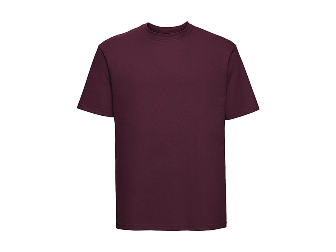 Russell Europe T-Shirt, Burgundy, M bedrucken, Art.-Nr. 180004484