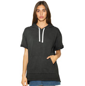 American Apparel Unisex French Terry Garment Dyed S/S Hoodie bedrucken, Art.-Nr. 21307