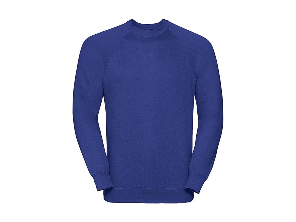 Russell Europe Raglan Sweatshirt, Bright Royal, M bedrucken, Art.-Nr. 237003064