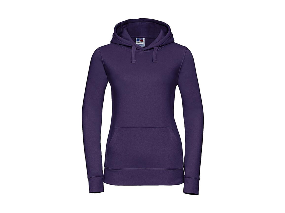 Russell Europe Ladies` Authentic Hooded Sweat, Purple, XS bedrucken, Art.-Nr. 249003492