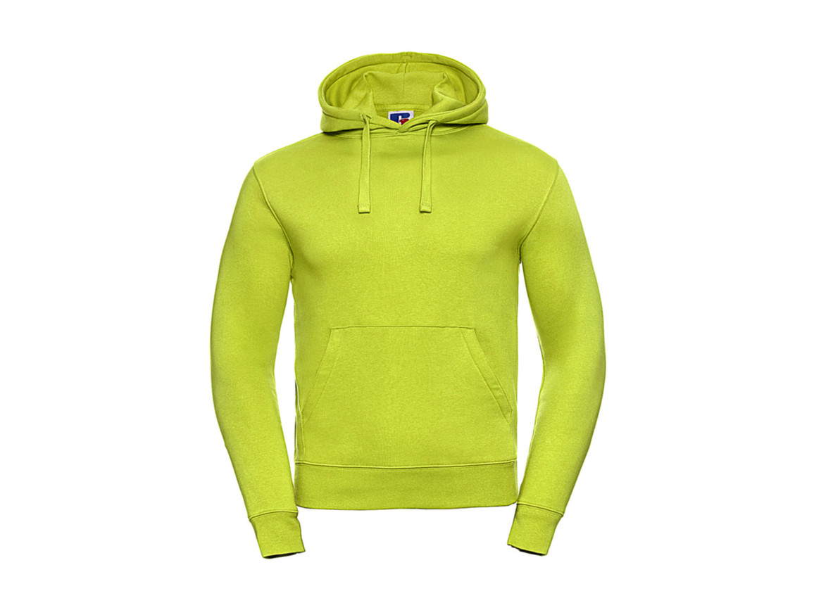 Russell Europe Authentic Hooded Sweat, Lime, XS bedrucken, Art.-Nr. 265005212
