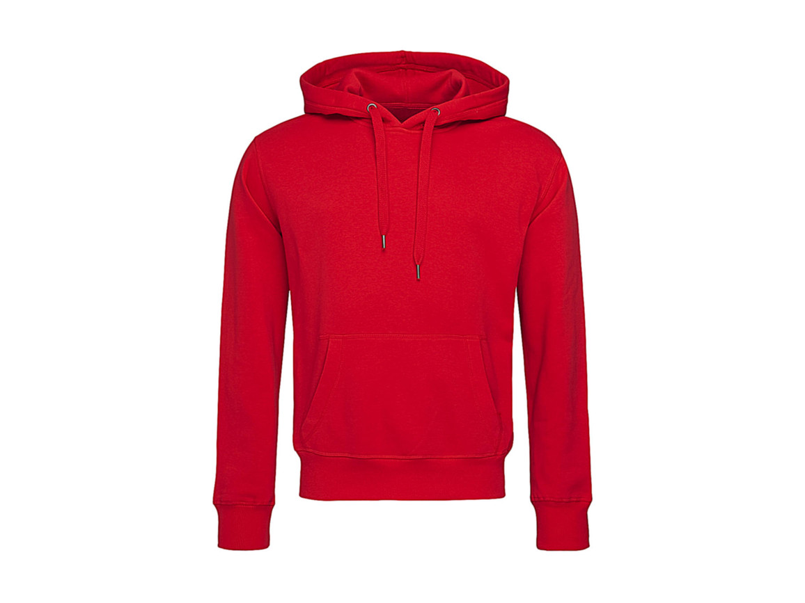 Stedman Active Sweat Hoody Men, Crimson Red, XL bedrucken, Art.-Nr. 265054416