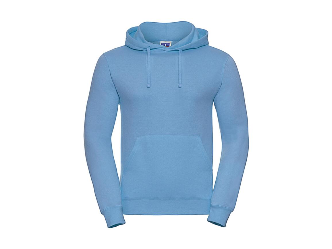 Russell Europe Hooded Sweatshirt, Sky, L bedrucken, Art.-Nr. 276003205