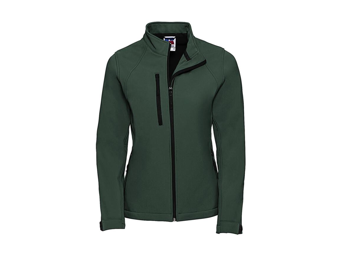Russell Europe Softshell Jacket, Bottle Green, XL bedrucken, Art.-Nr. 438005406
