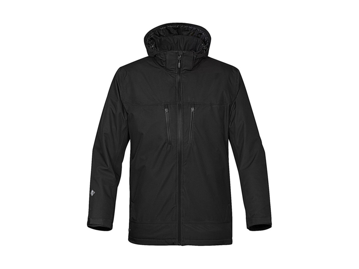 StormTech Snowburst Thermal Shell Jacket, Black/Black, XL bedrucken, Art.-Nr. 466181536