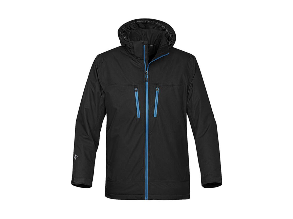StormTech Snowburst Thermal Shell Jacket, Black/Electric, L bedrucken, Art.-Nr. 466181605