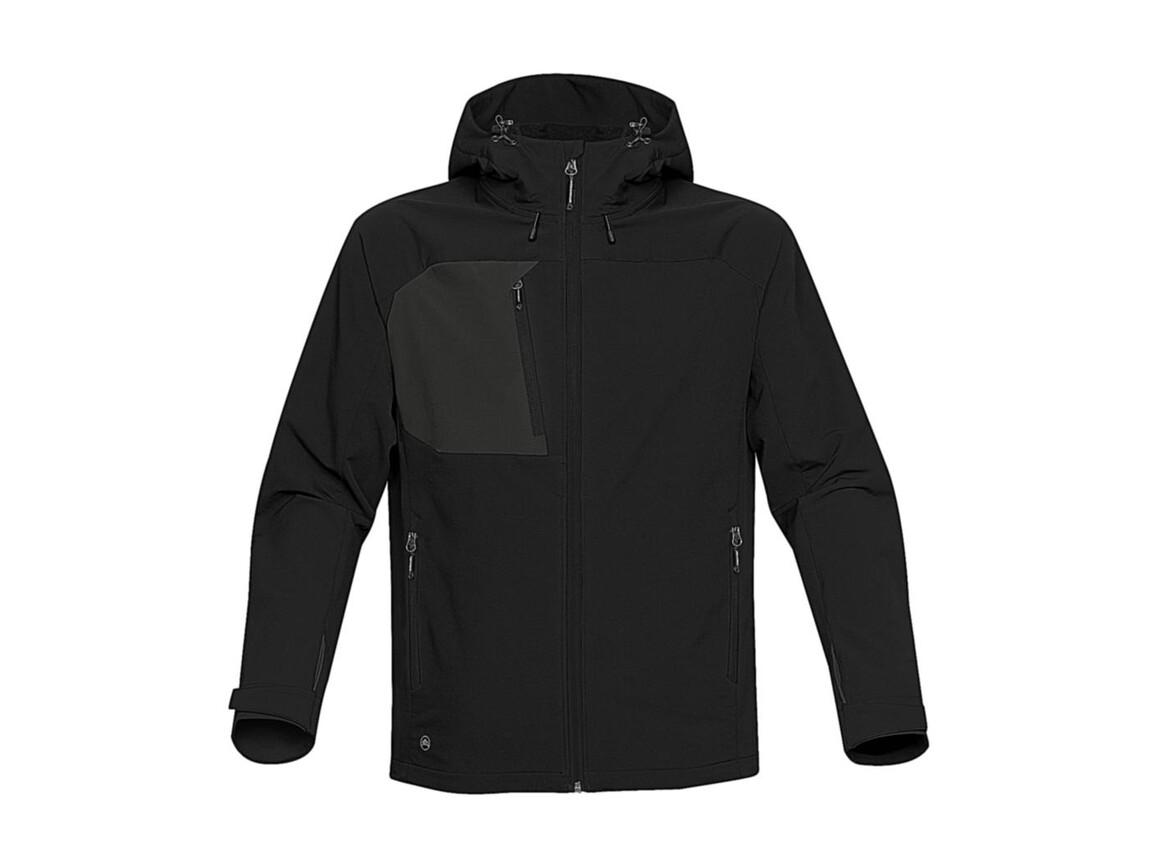StormTech Sidewinder Softshell Jacket, Black/Black, L bedrucken, Art.-Nr. 467181535