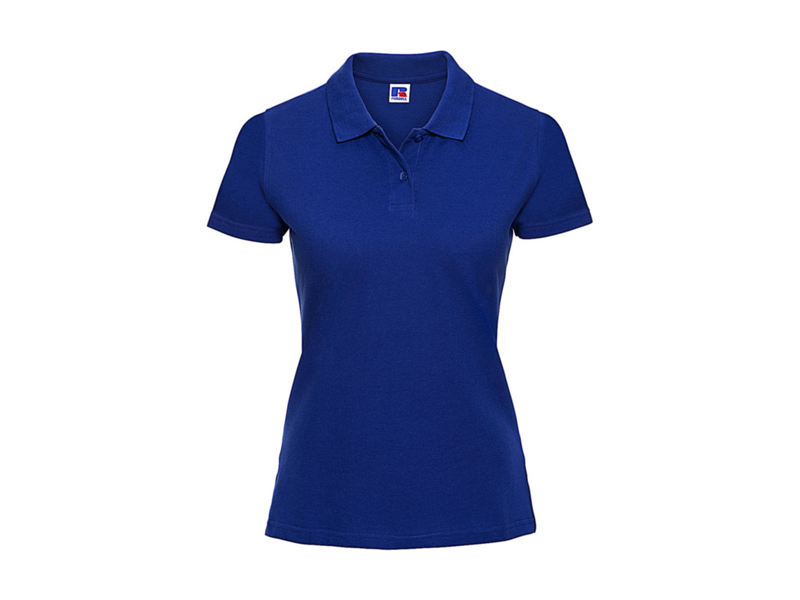 Russell Europe Ladies` Classic Cotton Polo, Bright Royal, XS bedrucken, Art.-Nr. 502003062