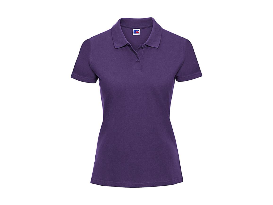 Russell Europe Ladies` Classic Cotton Polo, Purple, XS bedrucken, Art.-Nr. 502003492