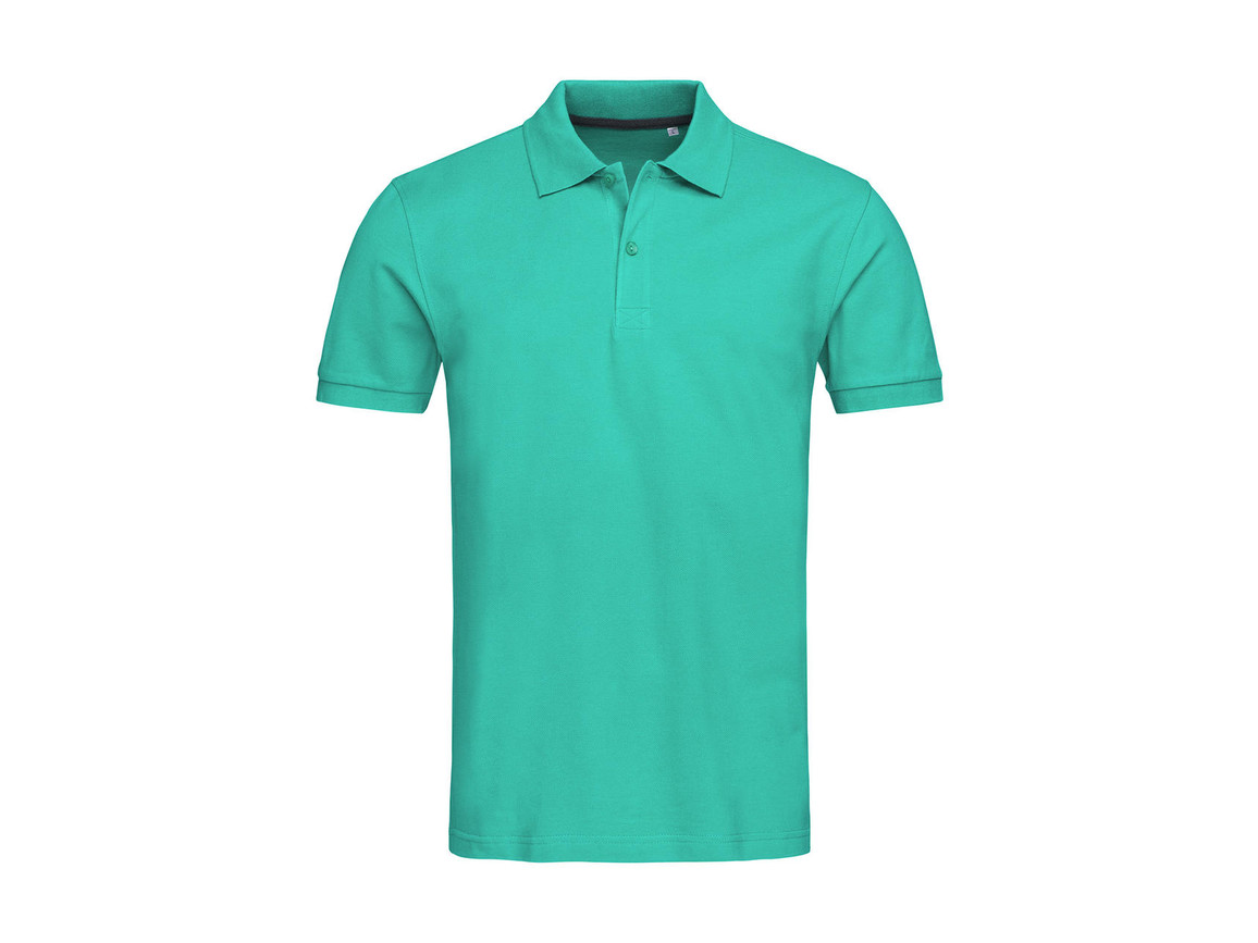 Stedman Henry Polo Men, Bahama Green, S bedrucken, Art.-Nr. 521055203