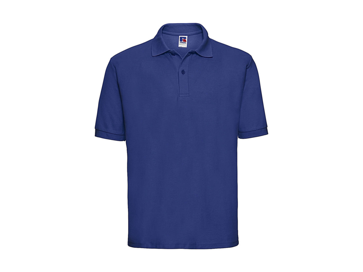 Russell Europe Men`s Classic Polycotton Polo, Bright Royal, 5XL bedrucken, Art.-Nr. 539003060
