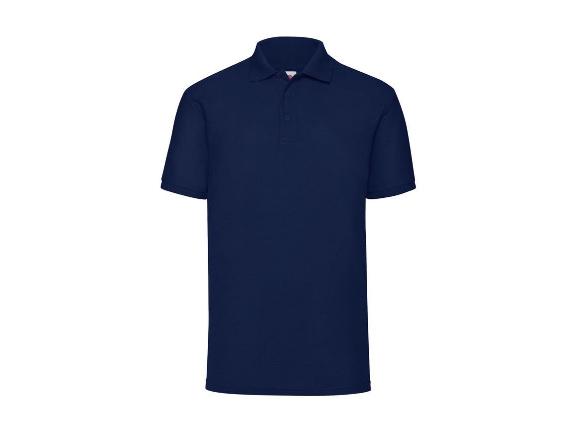 Fruit of the Loom 65/35 Polo, Navy, 4XL bedrucken, Art.-Nr. 539012009