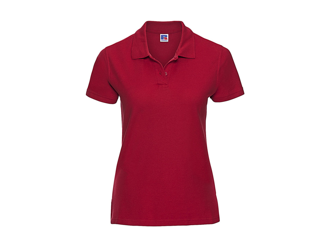 Russell Europe Better Polo Ladies`, Classic Red, S bedrucken, Art.-Nr. 578004013