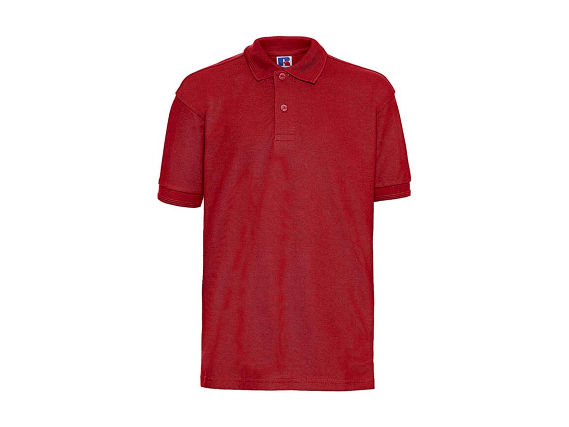 Russell Europe Children`s Polo Shirt, Bright Red, XL (140/9-10) bedrucken, Art.-Nr. 588004076