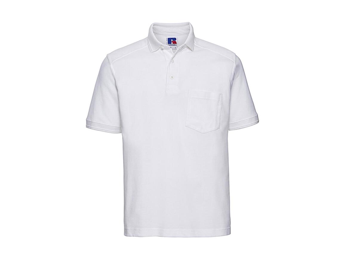 Russell Europe Workwear Polo Shirt, White, 3XL bedrucken, Art.-Nr. 590000008
