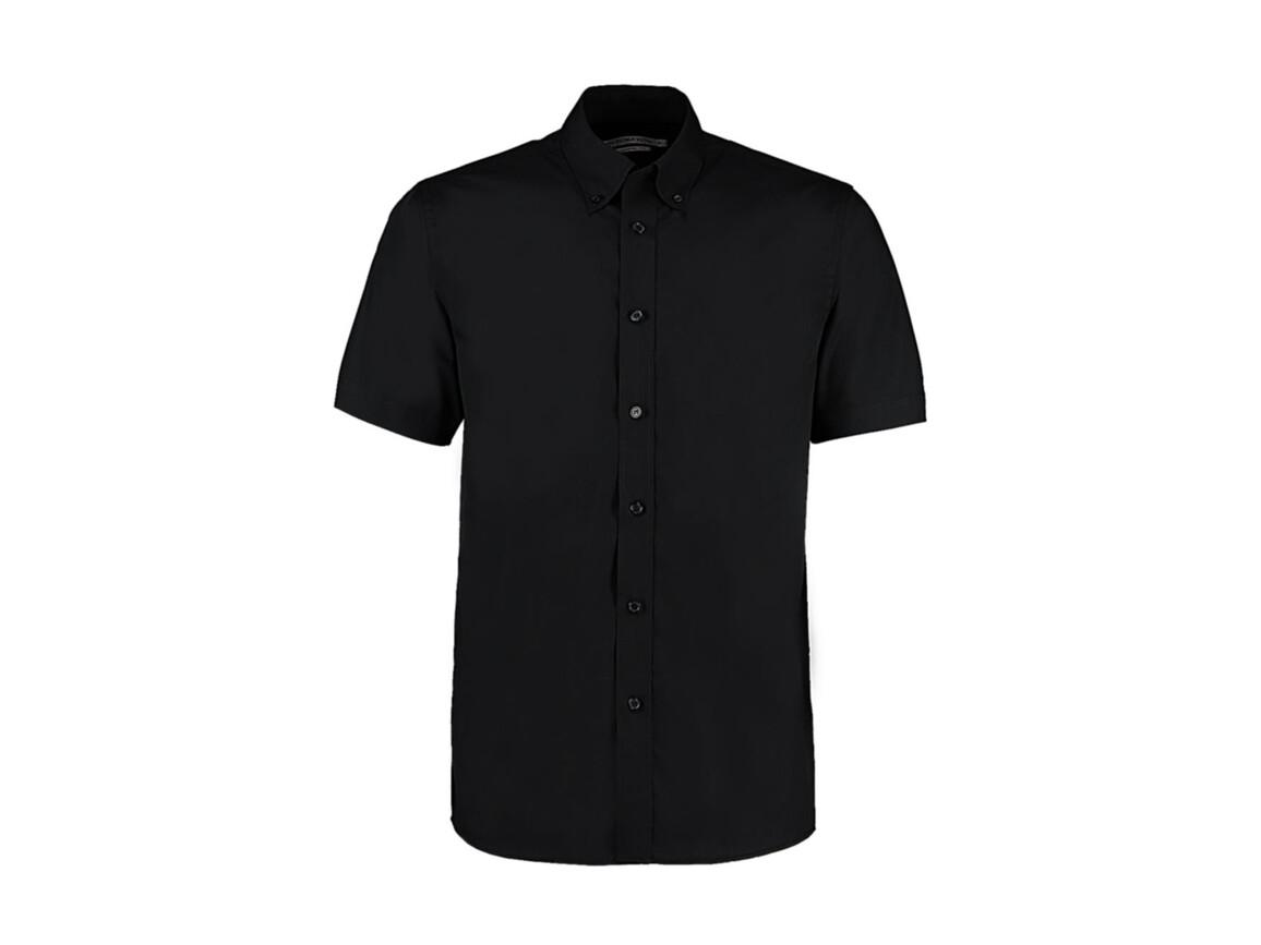 Kustom Kit Classic Fit Workforce Shirt, Black, XL bedrucken, Art.-Nr. 700111016