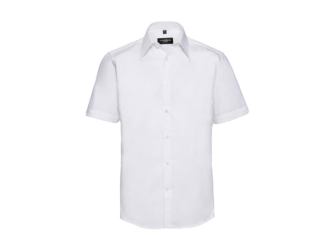 Russell Europe Tencel® Fitted Shirt, White, L bedrucken, Art.-Nr. 755000005