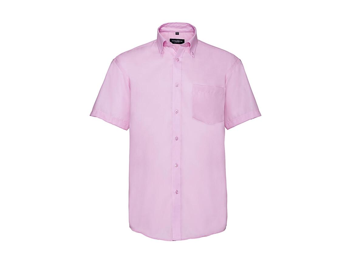 """Russell Europe Men`s Ultimate Non-iron Shirt, Classic Pink, S/15"""" bedrucken, Art.-Nr. 757004201"""