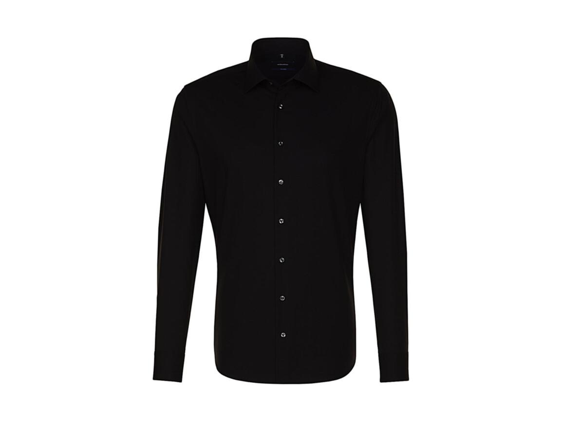 Seidensticker Seidensticker Tailored Fit Shirt LS, Black, 38 bedrucken, Art.-Nr. 758201011