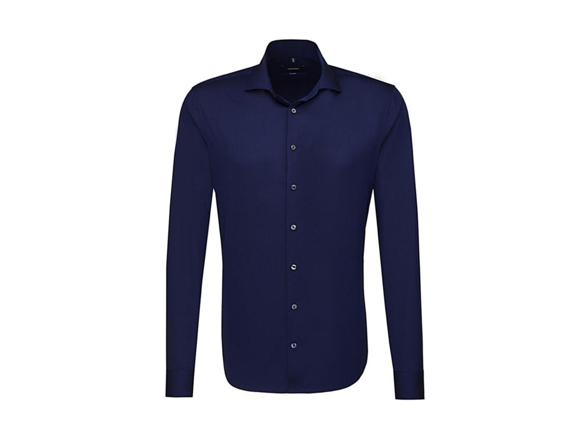 Seidensticker Seidensticker Tailored Fit Shirt LS, Dark Blue, 46 bedrucken, Art.-Nr. 758202089