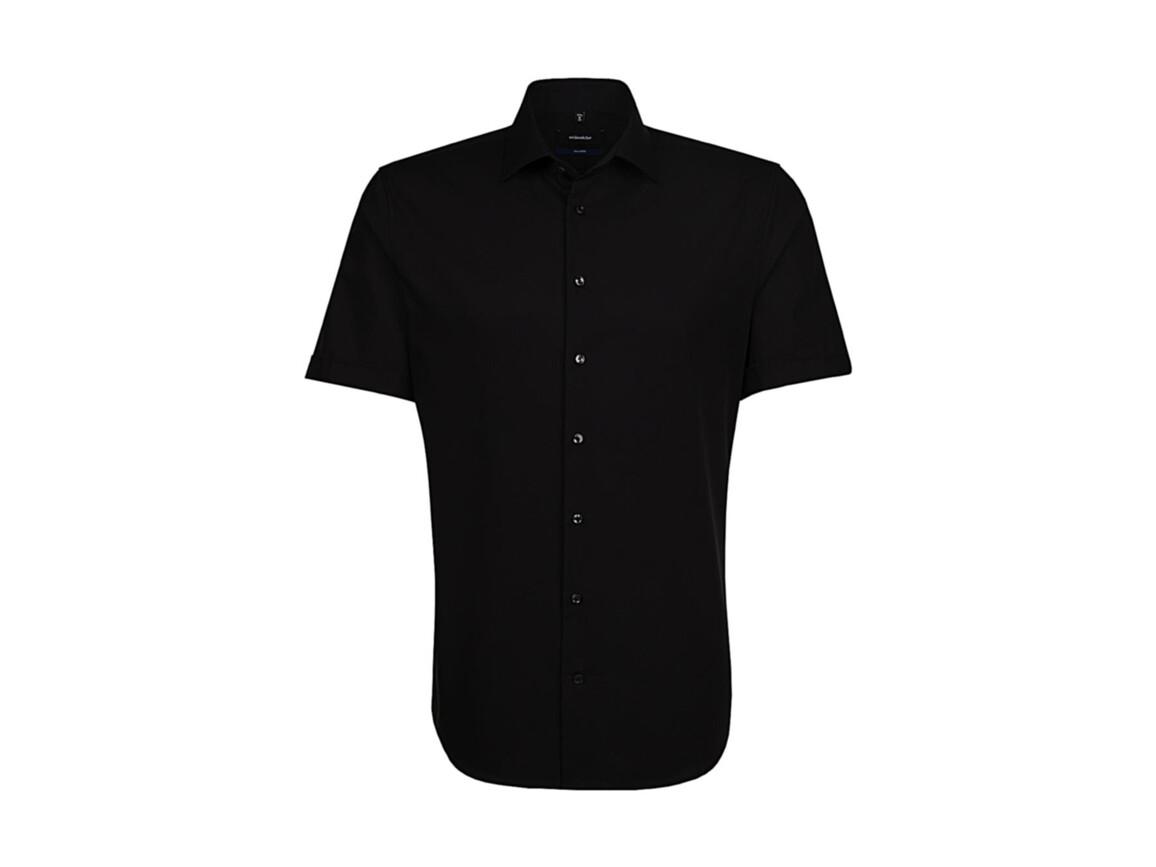 Seidensticker Seidensticker Tailored Fit Shirt, Black, 43 bedrucken, Art.-Nr. 759201016