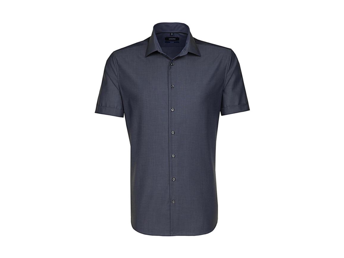 Seidensticker Seidensticker Tailored Fit Shirt, Anthracite, 42 bedrucken, Art.-Nr. 759201405