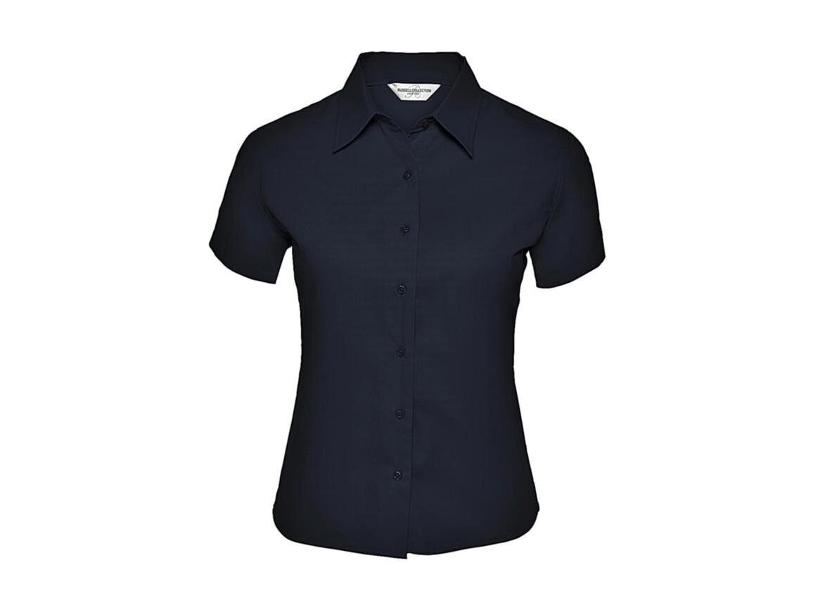 Russell Europe Ladies` Classic Twill Shirt, French Navy, 2XL (44) bedrucken, Art.-Nr. 767002017