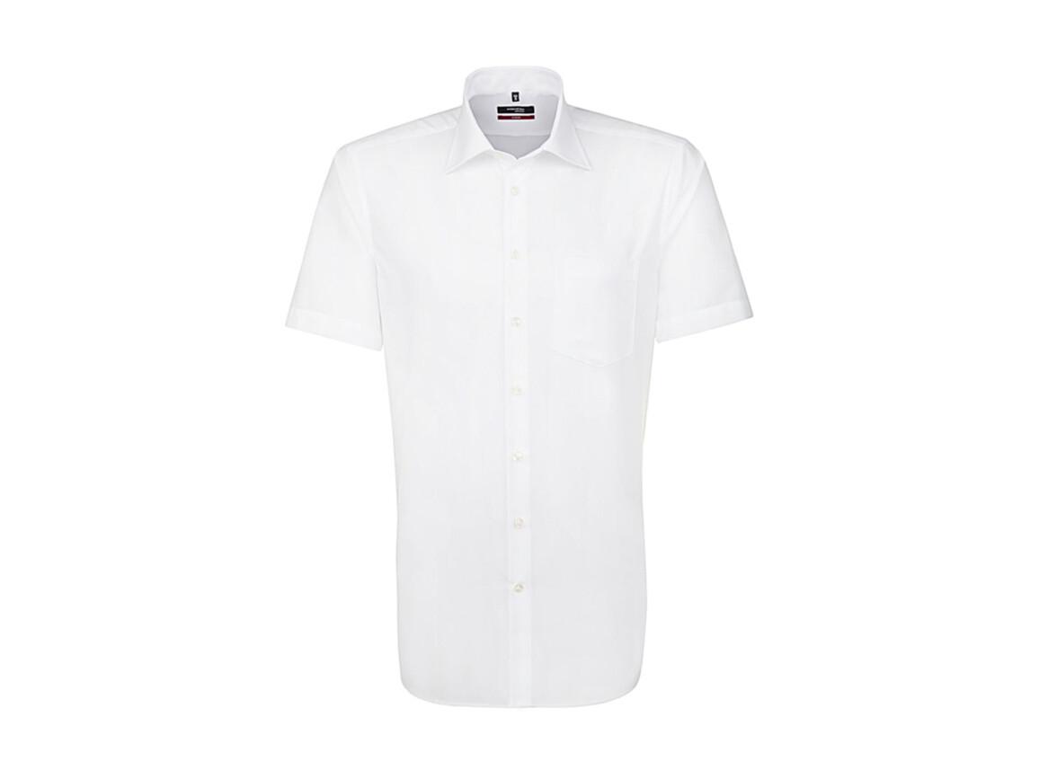 Seidensticker Seidensticker Modern Fit Shirt, White, 45 bedrucken, Art.-Nr. 775200007