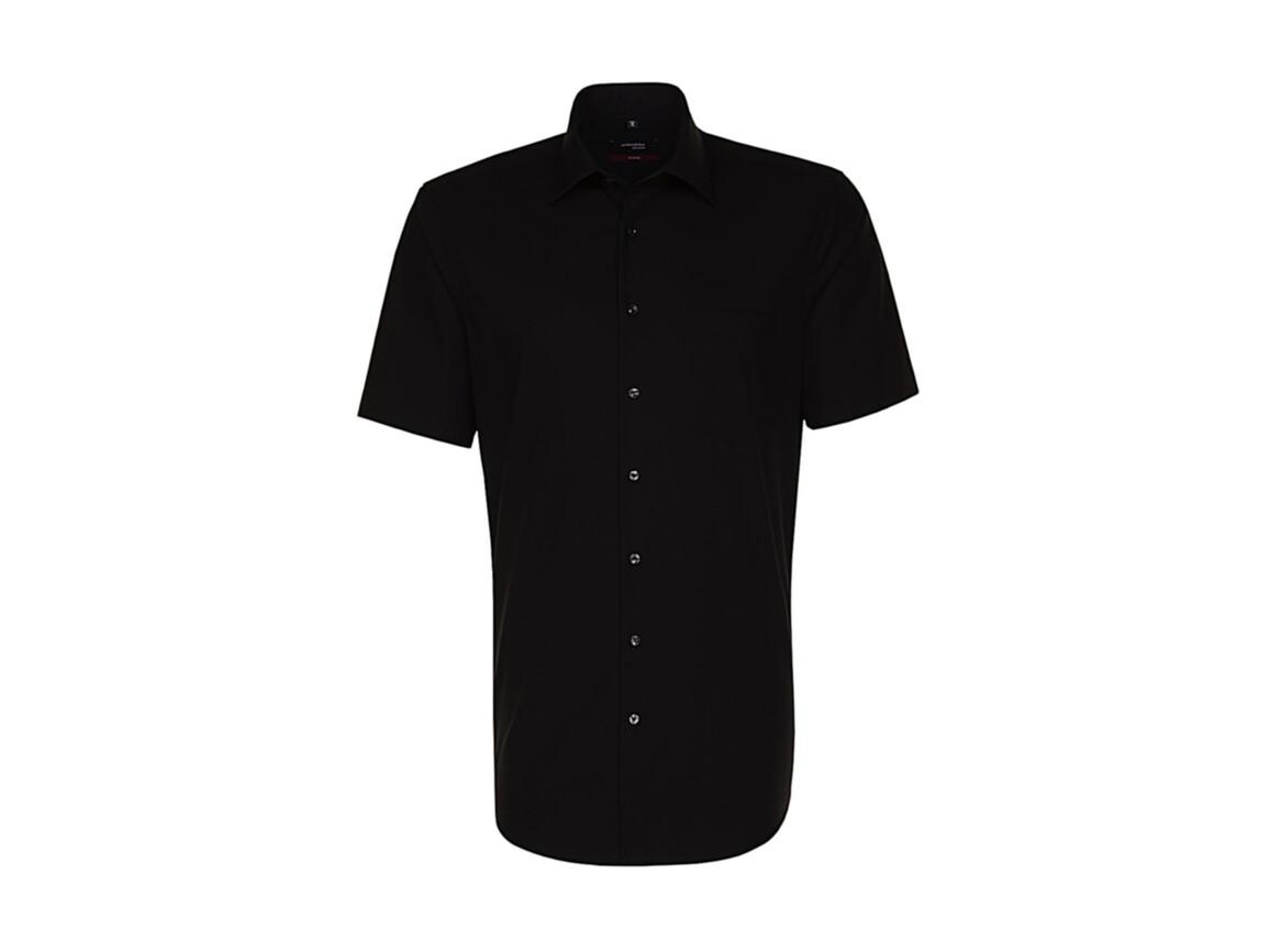Seidensticker Seidensticker Modern Fit Shirt, Black, 47 bedrucken, Art.-Nr. 775201019