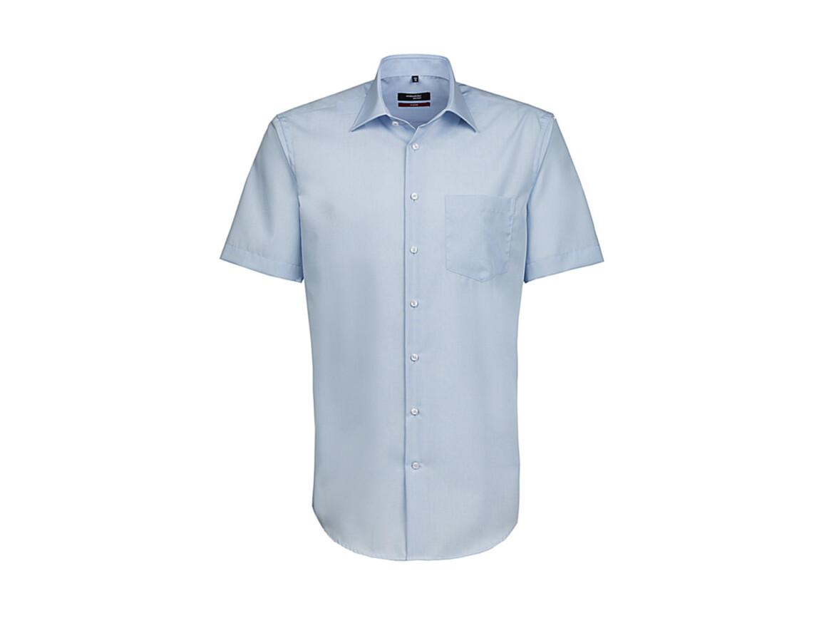 Seidensticker Seidensticker Modern Fit Shirt, Light Blue, 38 bedrucken, Art.-Nr. 775203260