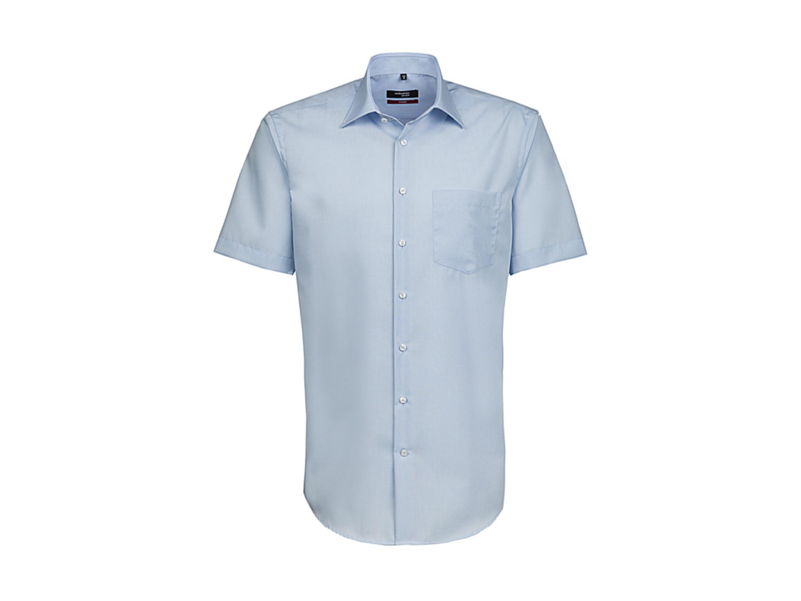 Seidensticker Seidensticker Modern Fit Shirt, Light Blue, 42 bedrucken, Art.-Nr. 775203264