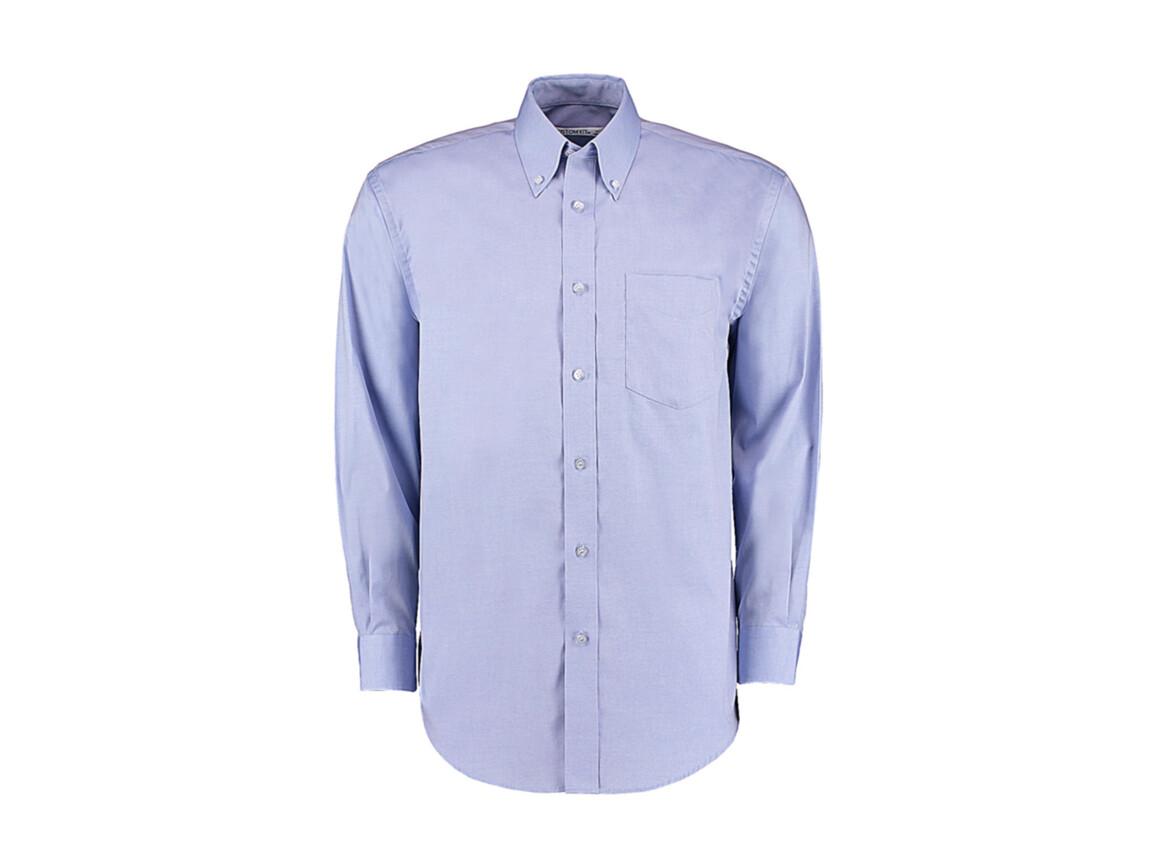 Kustom Kit Classic Fit Premium Oxford Shirt, Light Blue, 2XL bedrucken, Art.-Nr. 778113219