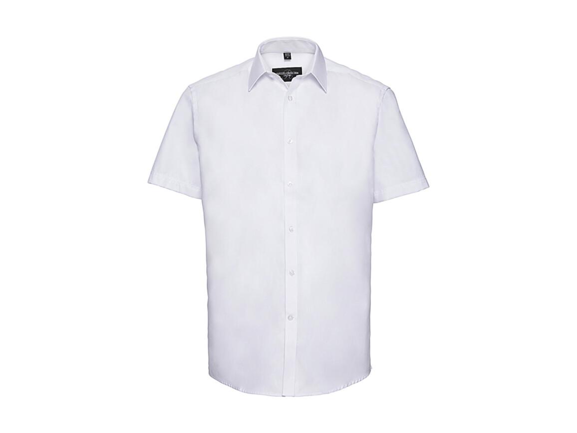 """Russell Europe Men`s Herringbone Shirt, White, M (15.5"""") bedrucken, Art.-Nr. 783000004"""