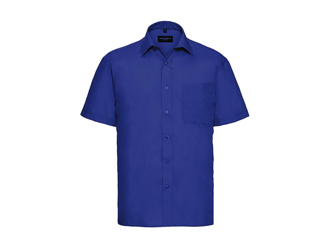 Russell Europe Poplin Shirt, Bright Royal, 2XL bedrucken, Art.-Nr. 792003067