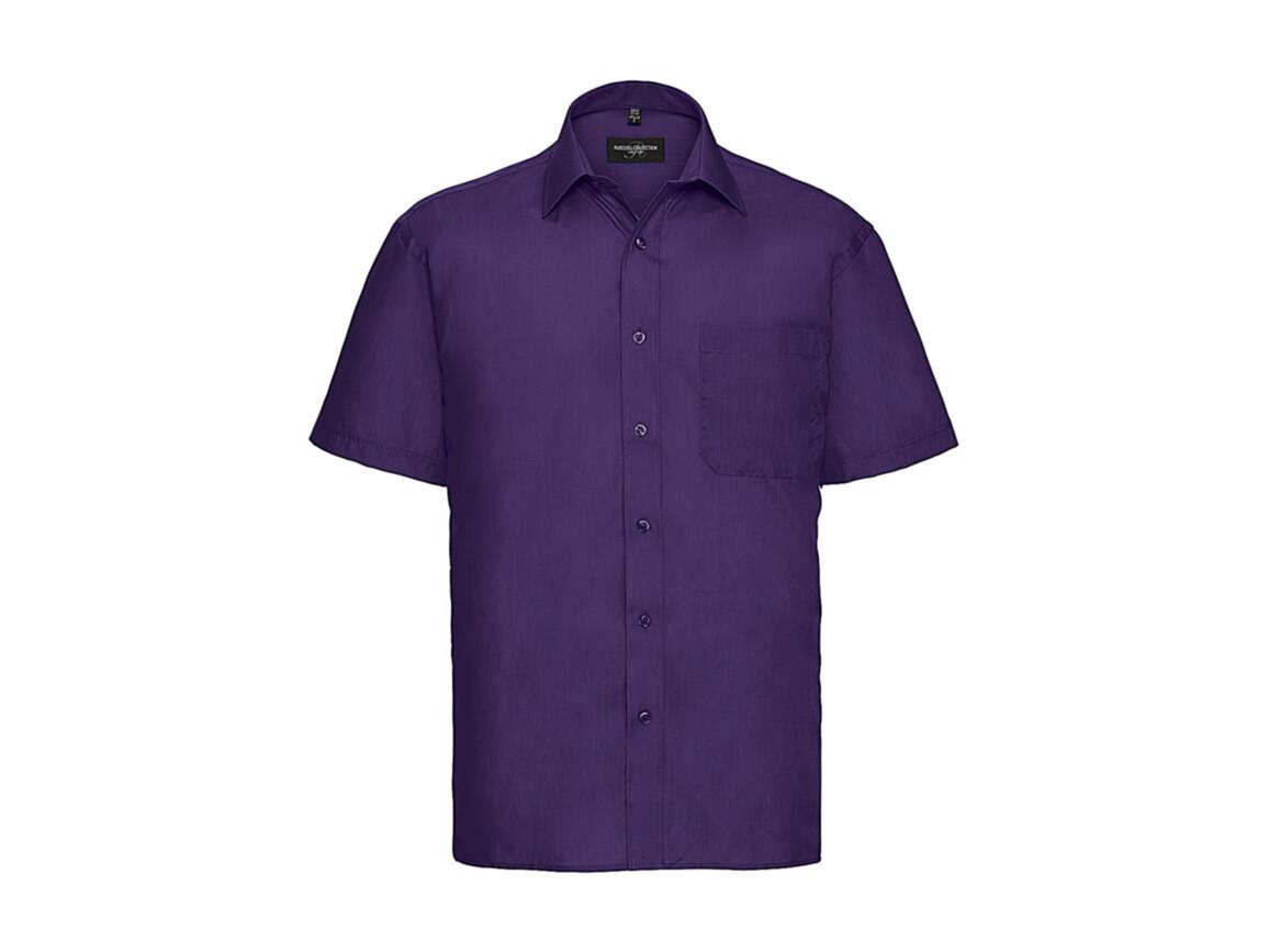 Russell Europe Poplin Shirt, Purple, L bedrucken, Art.-Nr. 792003495