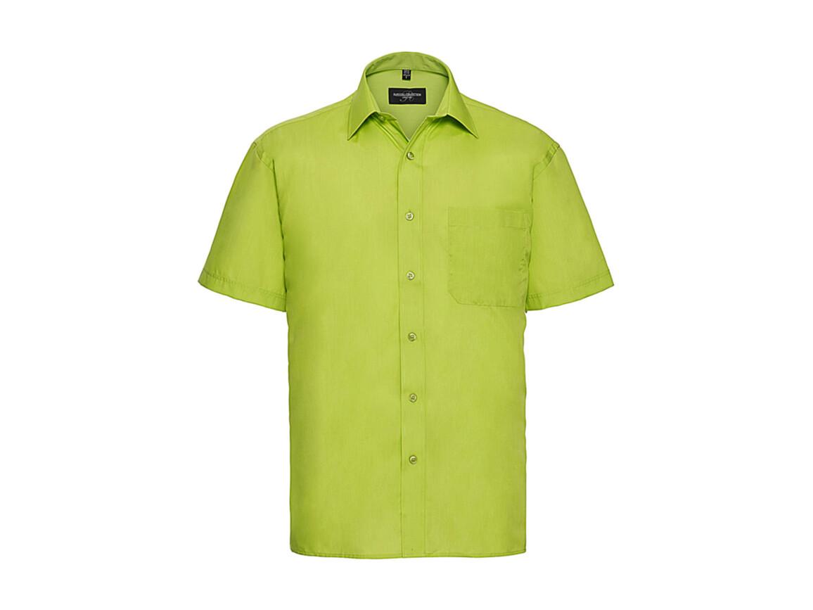 Russell Europe Poplin Shirt, Lime, 4XL bedrucken, Art.-Nr. 792005219