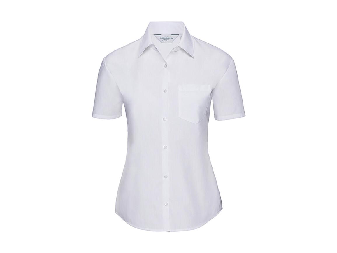 Russell Europe Ladies` Poplin Shirt, White, XL (42) bedrucken, Art.-Nr. 793000006