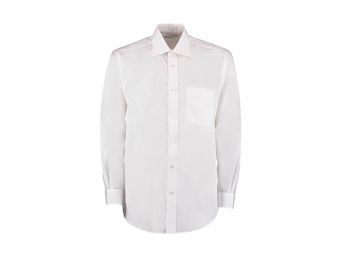 Kustom Kit Classic Fit Business Shirt, White, M bedrucken, Art.-Nr. 794110003