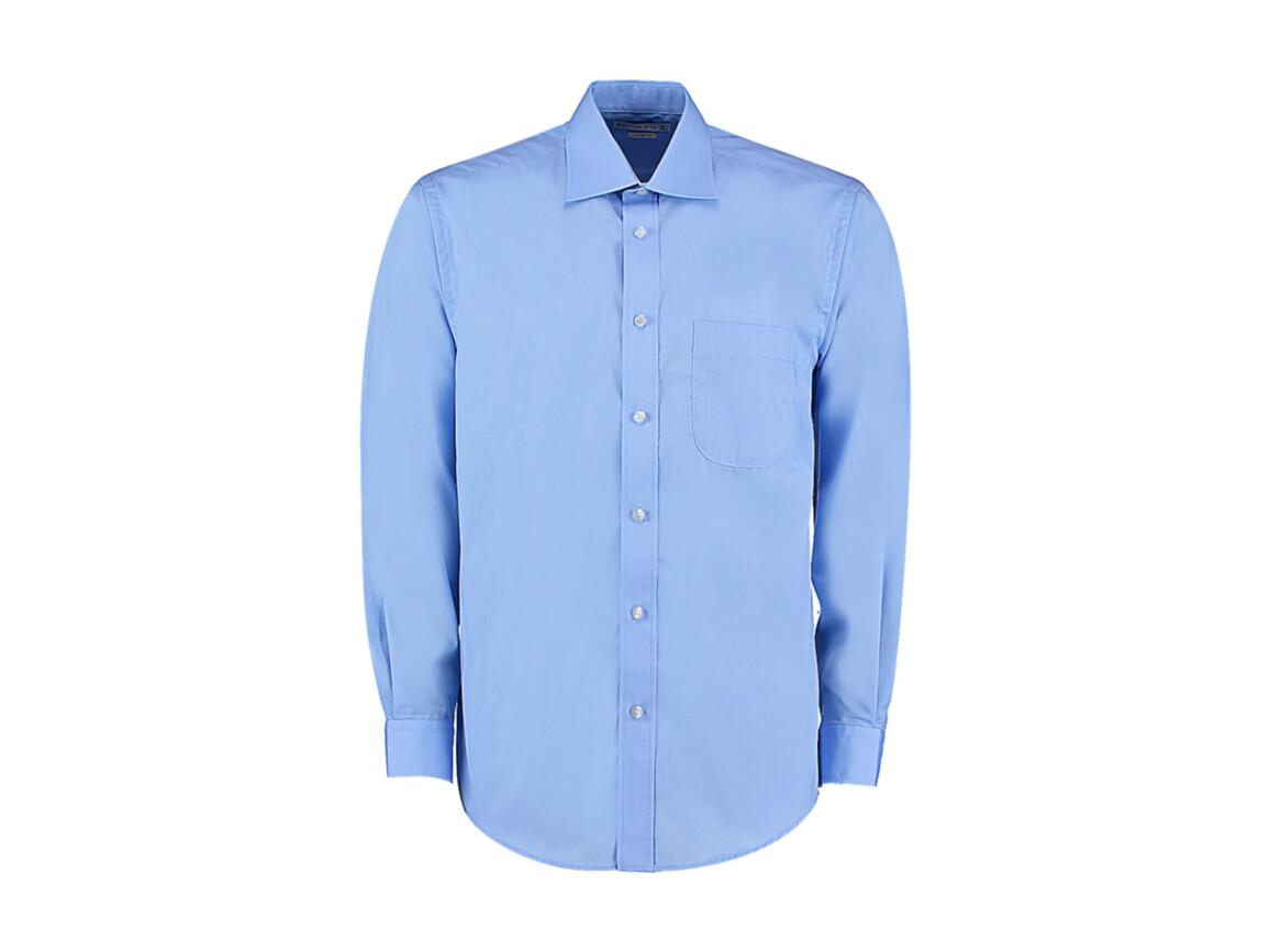 Kustom Kit Classic Fit Business Shirt, Light Blue, S bedrucken, Art.-Nr. 794113211