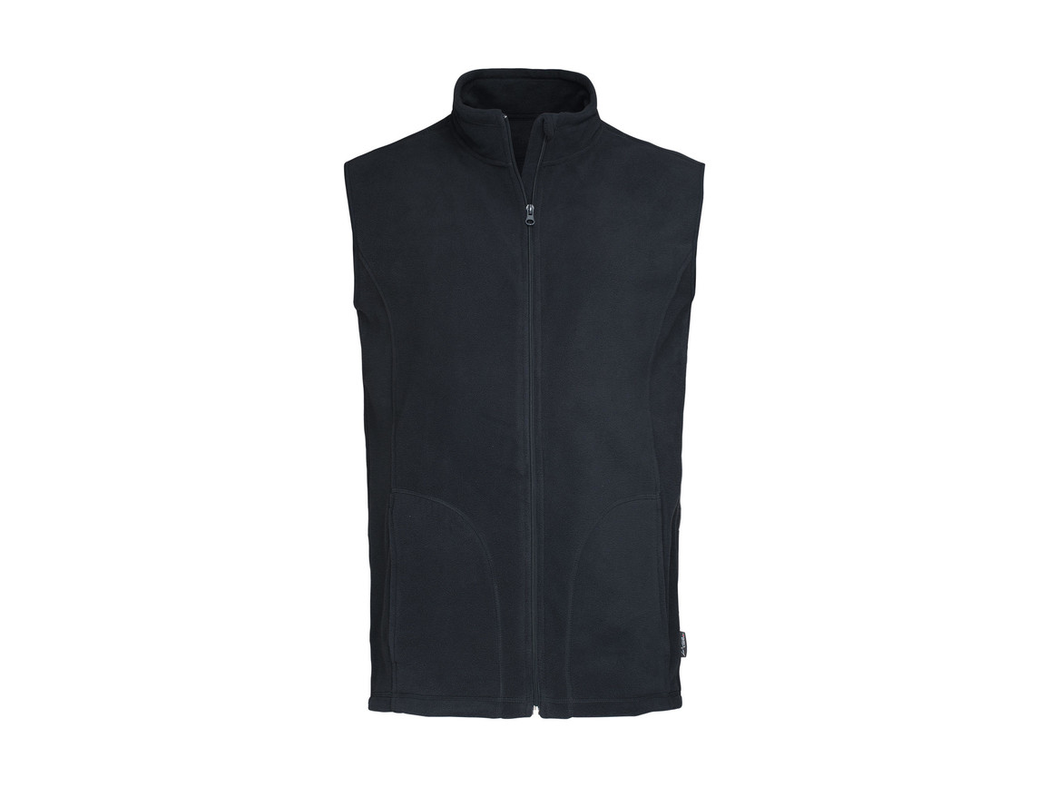 Stedman Active Fleece Vest Men, Blue Midnight, L bedrucken, Art.-Nr. 828052035