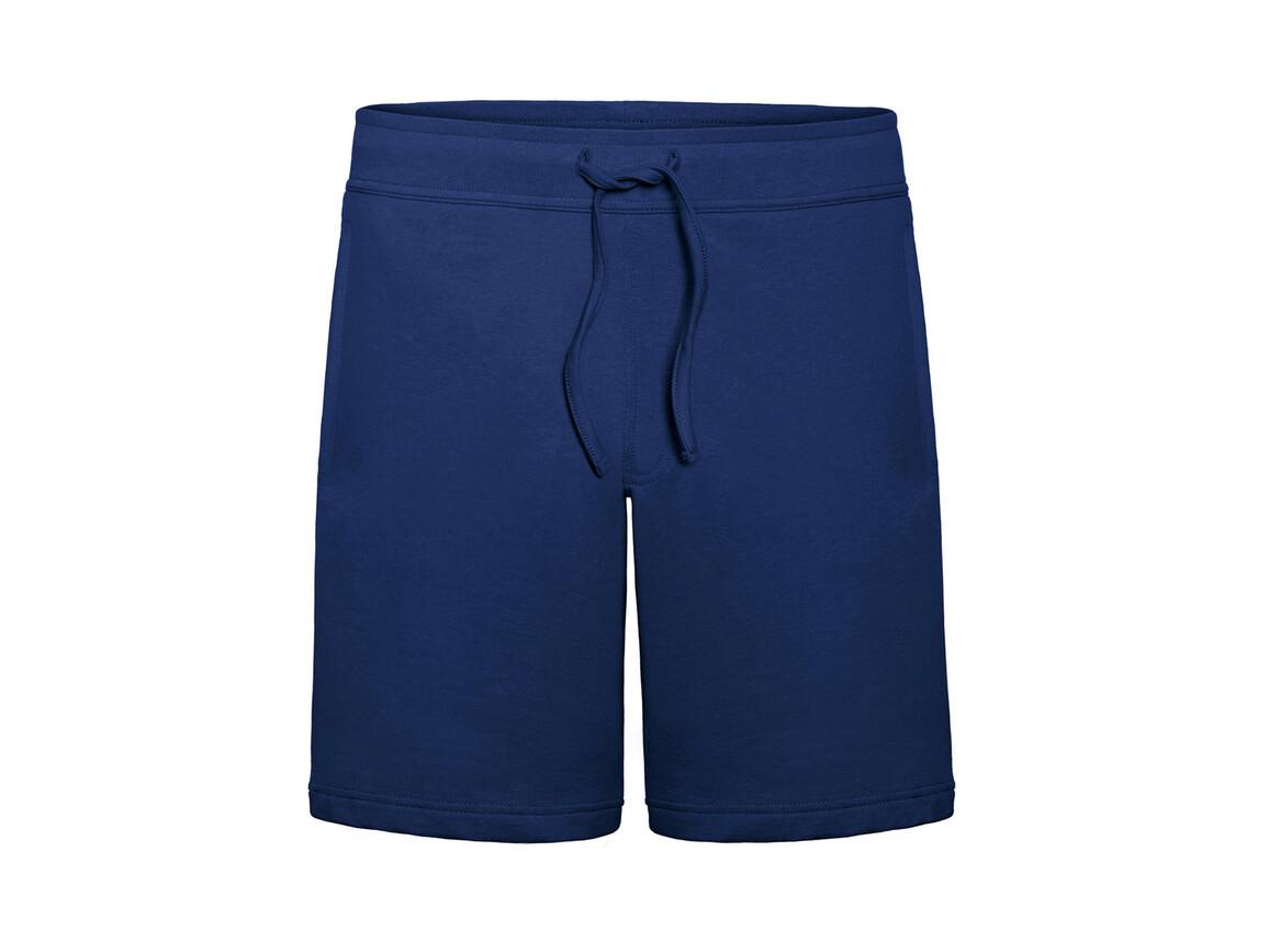 B & C Splash/men Summer Sweat Shorts, Pacific Deep Blue, 2XL bedrucken, Art.-Nr. 902422137