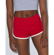American Apparel Women`s Interlock Running Shorts bedrucken, Art.-Nr. 90407