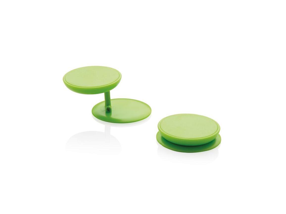 Stick 'n Hold Telefonhalter grün bedrucken, Art.-Nr. P324.777