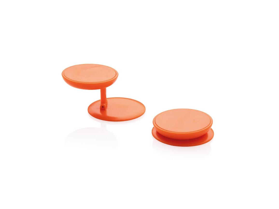 Stick 'n Hold Telefonhalter orange bedrucken, Art.-Nr. P324.778