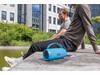 Soundboom wasserdichter 6W kabelloser Lautsprecher blau bedrucken, Art.-Nr. P328.245